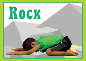 Rock Yoga Card Front
